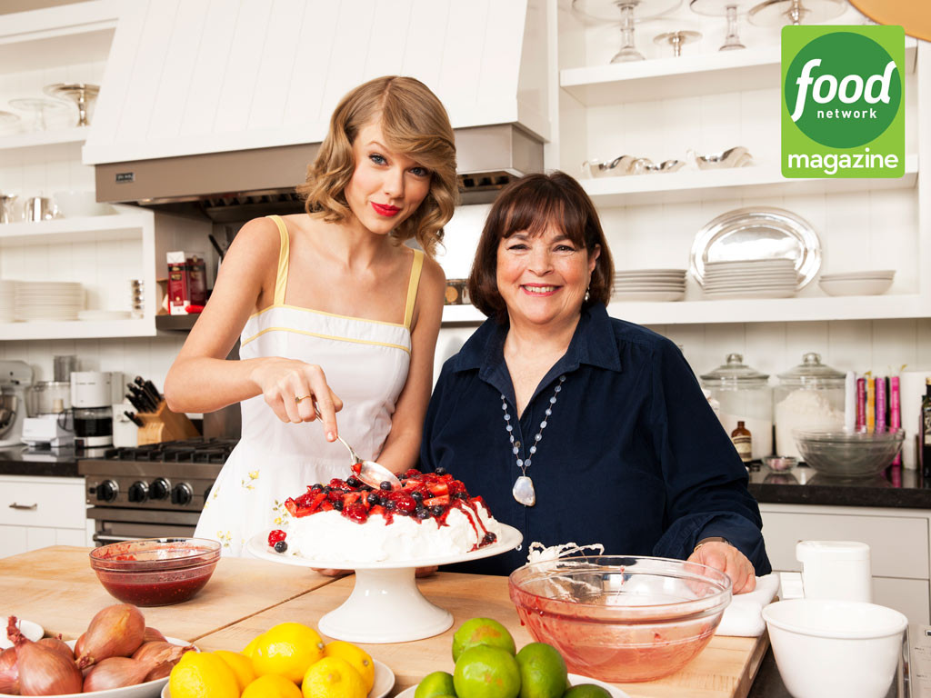 Barefoot Contessa Kitchen taylor swift and ina garten cook mustard-roasted fish