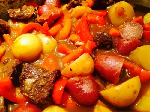 Hungarian Beef Stew from Ellie Krieger